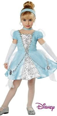 Cinderella Deluxe Costume for Toddler size 4-6 by California Costume New - Cinderella Costumes For Toddlers
