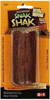 Ecotrition Snak Shak Treat Stuffer, Small, Peanut Butter Flavored (EC-84221)