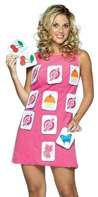 Rasta Imposta Sexy Funny Match Game Dress Women Halloween Costume Sz 4-10 New