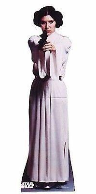 Star Wars Princess Leia Organa Wookie Lifesize Standup Cardboard Cutout 111 - Princess Life Size Cutouts