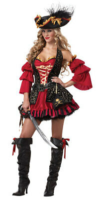 Womens Spanish Pirate Sexy Adult Halloween Costume](Halloween Pirate Costume)