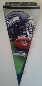 Officially Licensed NFL Seattle Seahawks Pennant (NEW)