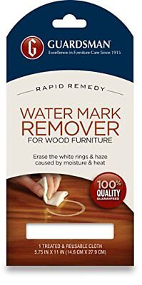 Guardsman Water Mark Remover Cloth - Erase White Rings & Haze Caused By - Ring Eraser