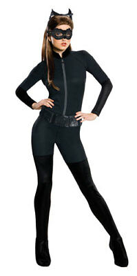 Womens Catwoman Catsuit Halloween Costume (Catwoman Halloween Costumes Adults)