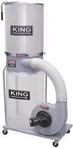 KING CANADA 2 Hp Dust Collector W/ Canister Filter
