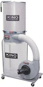 KING INDUSTRIAL 2 Hp Dust Collector W/ Canister Filter
