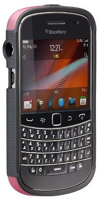 Blackberry Bold 9900 / 9930 Pop Cases - Olo By Case-mate Pink / Cool Gray