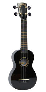 NEW* MAHALO U30BK BLACK SOPRANO UKULELE BRAND NEW with GIG BAG REAL INSTRUMENT
