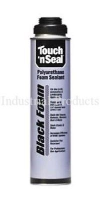 Touch N Seal Gun Foam Black Polyurethane Foam - 1 Case1224oz Cans 4004529813