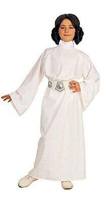 Princess Leia Star Wars Classic White Fancy Dress Up Halloween Child Costume