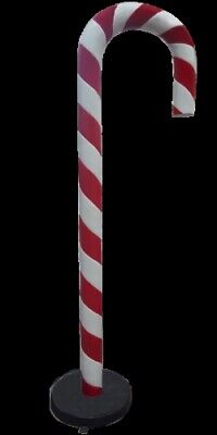 Candy Cane Props (Candy Cane 6.5 ft Over Sized Resin Prop Decor)