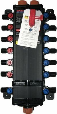 36 Port - 12 Viega Manabloc 14 Hot Ports 22 Cold Ports - Crimp - Lead Free