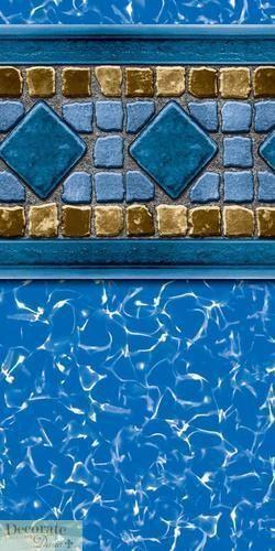 Above Ground Beaded Pool Liners Ebay