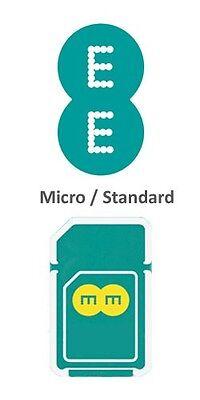 EE 4Gee PAYG Triple (Standard/Micro/Nano) Data Sim Pack 6 GB