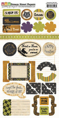 Superstition Collection Halloween 24 Die Cuts  Shapes Happy Haunting Bootiful - Happy Halloween Bootiful