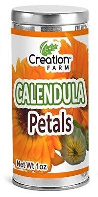 CREATION FARM Calendula Flower Tea - Healthy Bulk Herb Infusion Drink Hot Or -