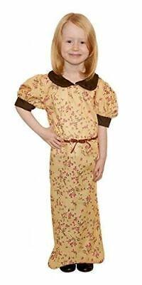 Evacuee Girl Fancy Dress Costume, Small Size, 4-6 - Evacuee Fancy Dress Kostüme