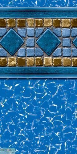 15x30 Beaded Oval Pool Liner Ebay