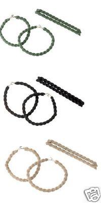 6197 / 6198 / 6498 Rothco Elastic Blousing Garter- Tan- Black Or Olive Black Elastic Blousing Garters