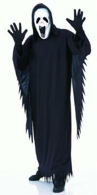 HOWLING GHOST SCARY ADULT MENS MASK ROBE FANCY DRESS HALLOWEEN COSTUME](Howling Ghost Costume)