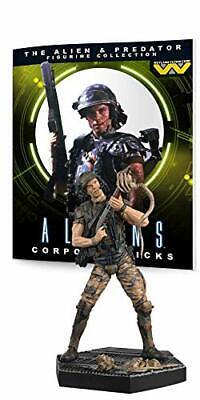Eaglemoss Predator Figura colección # 3: Hicks de Alien Resina Figura