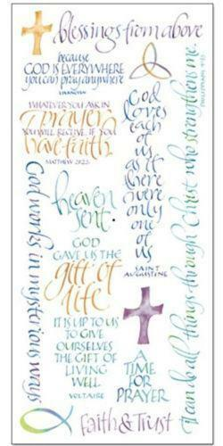 religious scrapbooking stickers