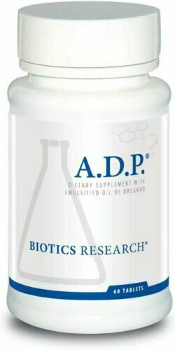 Biotics Research - A.D.P. ADP 60 Tablets - Emulsified Oregano Oil