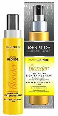 John Frieda Sheer Blonde Go Blonder Lightening Spray for Blonde Hair, 100 ml