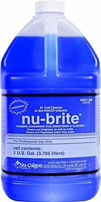 Nu-calgon 4291-08 Nu-brite Condenser Coil Cleaner 1-gallon