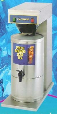 Cecilware Fresh Brewed Iced Tea Machine Ftc-5 With S-5 Dispenser - 5 Gallon