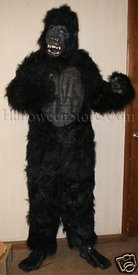Gorilla Deluxe Ape Monkey Adult Costume Latex (Adult Deluxe Gorilla Kostüme)