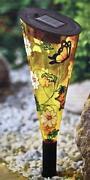 Solarleuchte Schmetterling