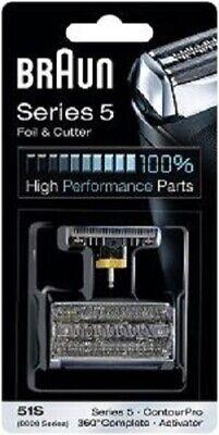 Braun Kombipack 51S Series 5 Folie und Klingenblock 8000,Complete 360,Activator, - Serie 8000 Folie