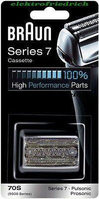 BRAUN Kombipack 70S  Series 7  Pulsonic (9000)  NEU&OVP Farbe: Silber