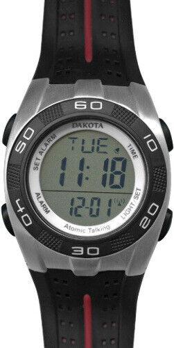 New Dakota DK7241 Atomic Talking Digital Watch