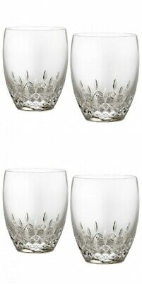 Waterford Lismore Essence Double Old Fashioned Pair 2 Pairs 4 glasses #151741  Waterford Lismore Double Old Fashioned