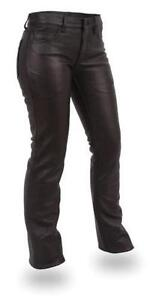 Womens Leather Pants | eBay