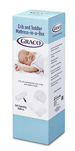 Graco Ultra Plush Foam Crib and Toddler Mattress-in-a-Box