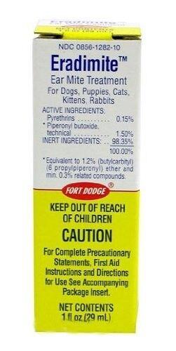 Eradimite Ear Mite Treatment for Pets 1 oz.