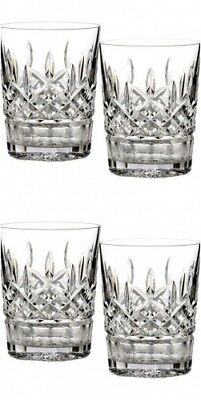 Waterford Lismore 12 oz Double Old Fashioned DOF Pair Two Pairs #5493182120 New Waterford Lismore Double Old Fashioned