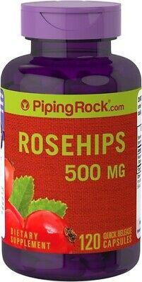 Usado, Rose Hips(Escaramujos9 500 mg.120capsulas (Vitamina C Natural) segunda mano  Valderrobres