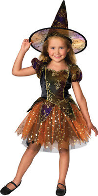 Elegant Witch Ballerina Child Halloween Costume