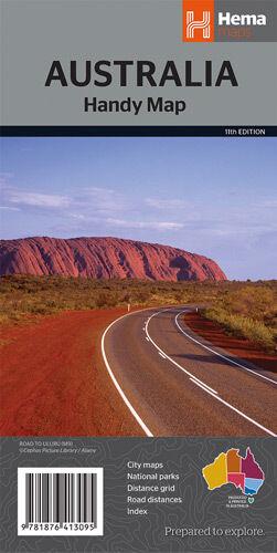 Hema Australia Handy Map *FREE SHIPPING - NEW*