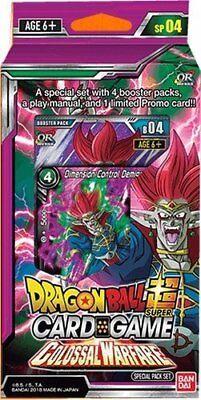 Dragon Ball Super TCG CCG Colossal Warfare Special Pack Promo Dash Ship Today
