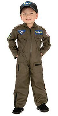 Young Heroes Air Force Fighter Boys Pilot Costume