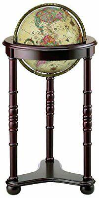 Replogle Globes Lancaster Illuminated Antique World Globe -