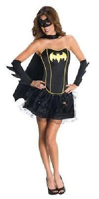 Ladies Batgirl Corset and tutu Fancy Dress Batman Movie - Batgirl And Batman Costumes