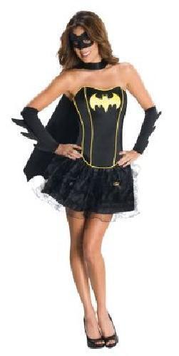 Ladies Batgirl Corset and tutu Fancy Dress Batman Movie Costume