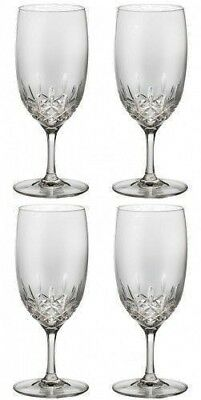 WATERFORD LISMORE ESSENCE WATER Glass Four (4) Glasses - Lismore Essence Water Glass