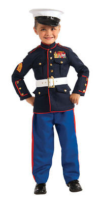 Boys Marines Dress Blues Halloween Costume